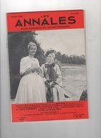 LES ANNALES 02 1966 - GENEVIEVE CASILE ET MARIE DUBOIS - JEAN ROSTAND - ANIMAUX DEVANT LA JUSTICE - EDOUARD BOURDET - - Zeitungen
