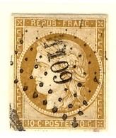 France YT N° 1 Oblitéré. Belle Qualité, Belles Marges. A Saisir! - 1849-1850 Ceres
