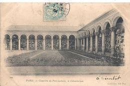 Cpa Paris 20 Cimetière Père Lachaise Le Columbarium - Arrondissement: 20