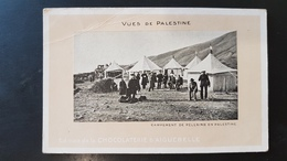 Campement De Pelerins En Palestine - Palestine