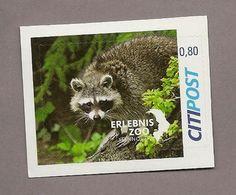 Privatpost - Citipost- Waschbär (Procyon Lotor) - Briefmarken