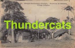CPA AFRIQUE OCCIDENTALE SENEGAL DAKAR VILLAGE INDIGENE - Sénégal