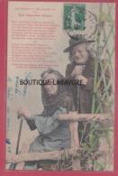 BERGERET----Les Pauvres Vieux---La Chanson De Maurice Bouray---précurseur - Illustrateurs & Photographes