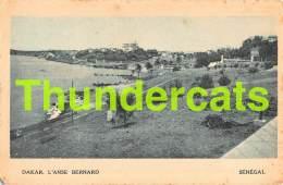 CPA SENEGAL DAKAR L'ANSE BERNARD - Sénégal