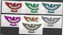 1970 SIERRA LEONE Michel 508-14 ** Oiseau, Rapace - Sierra Leone (1961-...)