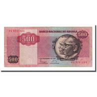 Billet, Angola, 500 Kwanzas, 1987-11-11, KM:120b, TTB+ - Angola