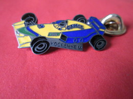 PIN'S    BENETTON  F1  HOCKENHEIM 1991  CAMEL - F1
