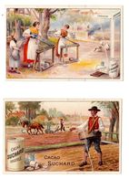 2 Chromos Suchard, 61 / 1 + 8, Agriculture - Suchard