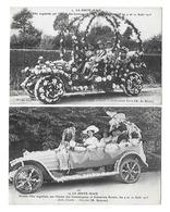 LA FERTE MACE Fête Des 9 Et 10 Août 1913 Lot De 2 Cartes (recto-verso) - La Ferte Mace