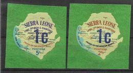 1965 SIERRA LEONE Michel 330-31 ** Kennedy, Issus De Série - Sierra Leone (1961-...)