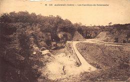 36-AMBRAULT- LES CARRRIERES DE BOISRAMIER - France