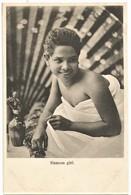 THAILANDE SIAMES GIRL BEAUTY  1905/10 VOIR DOS NON ECRITE BON ETAT - Thailand