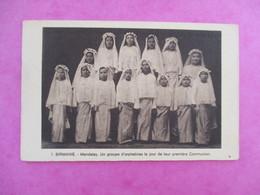CPA BIRMANIE MANDALAY GROUPE ORPHELINES JOUR DE LEUR COMMUNION - Cartes Postales