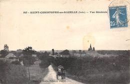 36-SAINT-CHRISTAPHE-EN-BAZELLE- VUE GENERALE - France