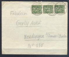 Germany - Deutsche Reich 1920 Cover Folded - Minerals Fosils Mine Mineralien - Mineralien