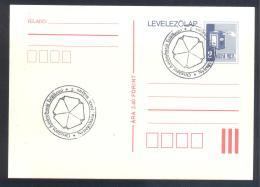 Hungary 1988 Card - Minerals Fosils Mine Mineralien  Minerals Friends Meeting - Mineralien