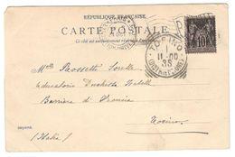 5777 - EXPOSITION UNIVERSELLE PARIS - Marcophilie (Lettres)