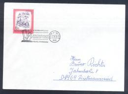 Austria Österreich 1983 Card; Minerals Fosil Fossil Mine Mineralien Paleontolyogy; Strontianite Strontianit - Mineralien
