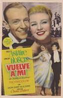 SPAIN ESPAÑA - CINE - FILM - CINEMA - ADVERTISEMENT - VUELVE A MI - FRED ASTAIRE - GINGER ROGERS - Cinema Advertisement