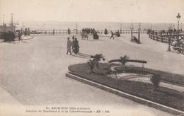 Gironde : ARCACHON : Jonction Du Boulevard Et De La Jetée-promenade - Arcachon