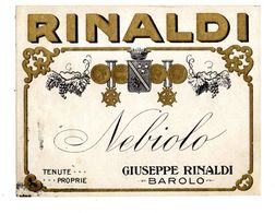 BAROLO NEBIOLO Giuseppe Rinaldi - Labels