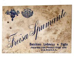 CANELLI FREISA SPUMANTE Bocchino - Labels