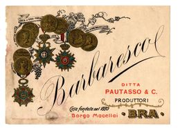 BRA MACELLAI BARBARESCO Pautasso & C. - Labels