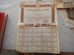 COMPTOIR IMMOBILIER DE FRANCE PARIS DIXIEME DE PART DE FONDATEUR AU PORTEUR N° 2948  1930 - Actions & Titres