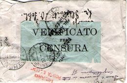B 2069 - Prima Guerra Mondiale, 1914-18, Torino, Censura - 1914-18