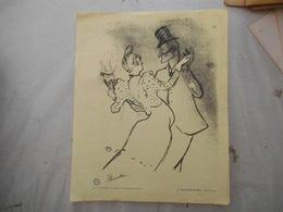 TOULOUSE-LAUTRC MOULIN ROUGE ART ET DYNAMISME 3e COLLECTION ASCORBAMINE MAUCHANT - Old Paper