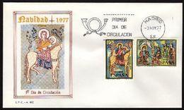 ESPAÑA 1977. EDIFIL 2446/47 - SPD. NAVIDAD - Espagne