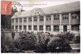 CPA - 76 - CRIEL SUR MER - Colonie De Vacances - Dortoirs Et Jardin - Criel Sur Mer