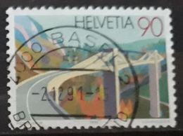 SUIZA 1991 Bridges. USADO - USED. - Suiza