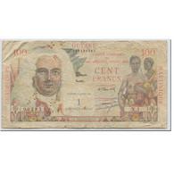 Billet, French Antilles, 1 Nouveau Franc On 100 Francs, 1961, Undated (1961) - French Guiana