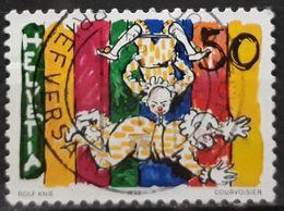 SUIZA 1992 Circus. USADO - USED. - Suiza