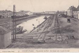 LUCON (85)  Vue Du Port Et Du Canal - Lucon