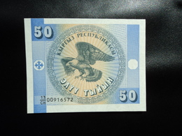KIRGHIZISTAN : 50 TIYIN  ND 1993  P 3    NEUF - Kirghizistan