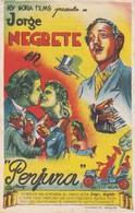 SPAIN ESPAÑA - CINE - FILM - CINEMA - ADVERTISEMENT - PERJURA - JORGE NEGRETE - Cinema Advertisement