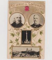 Recuerdo Del Centenario 1810-1910, Mexico - F.p. - Messico