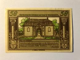 Allemagne Notgeld Heisterbach 50 Pfennig - [ 3] 1918-1933 : Weimar Republic