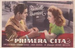 SPAIN ESPAÑA - CINE - FILM - CINEMA - ADVERTISEMENT - LA PRIMERA CITA - DANIELLE DARRIEUX - Cinema Advertisement