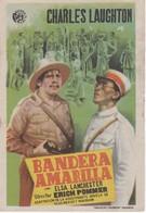 SPAIN ESPAÑA - CINE - FILM - CINEMA - ADVERTISEMENT - BANDERA AMARILLA - CHARLES LAUGHTON - Cinema Advertisement