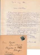 Lyon 1880 - HISTOIRE NATURELLE -  L.A.S. CHAFFAJON Aîné - Expédition Scientifique Sur Les Côtes De GUINÉE MÉRIDIONALE - Documenti Storici
