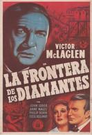 SPAIN ESPAÑA - CINE - FILM - CINEMA - ADVERTISEMENT - LA FRONTERA DE LOS DIAMANTES - VICTOR McLAGLEN - Cinema Advertisement