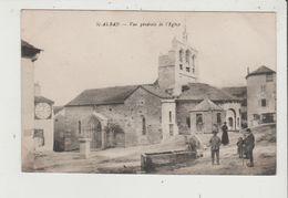 CPA - ST SAINT ALBAN - Vue Générale De L'Eglise - Saint Alban Sur Limagnole