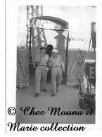 TELERGMA ALGERIE 1957 - PHOTO MILITAIRE 9 X 6.5 CM - Guerre, Militaire