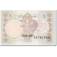 Billet, Pakistan, 1 Rupee, 1983, Undated (1983), KM:27c, NEUF - Pakistan