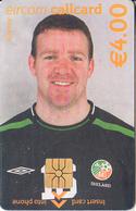 IRELAND - FIFA World Cup 2002, Irish National Football Team/Alan Kelly, Chip GEM1.3, Tirage %7000, Used - Ireland