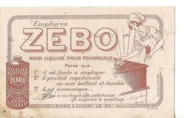 Buvard ZEBO Noir Liquide Pour Fourneaux / Usines à Choisy Le Roi - Wash & Clean
