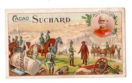 Chromo Suchard, Serie 112 / 12, Militaire, Bataille, Capitualtion Cronje's 1900 - Suchard